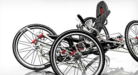 Carvx 4 Wheels Bicycle For Extreme Off Road Experience Tuvie 4 Wheel Bicycle Bicycle Recumbent Bicycle