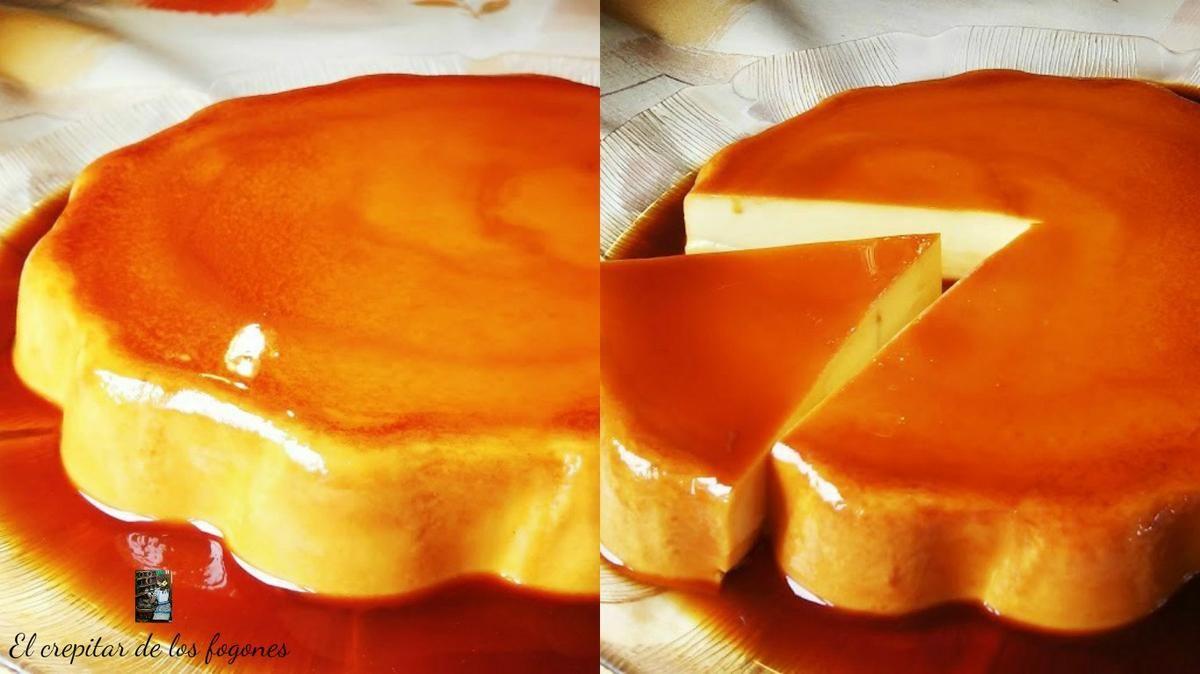 Pastel De Naranja Y Caramelo Sin Horno Pastel De Naranja Postres Rapidos Flan De Naranja