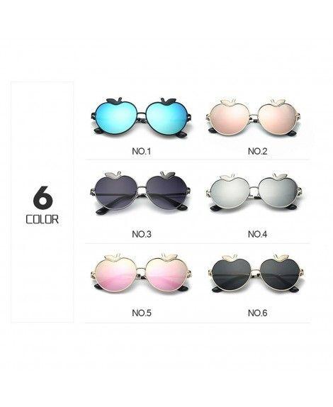 192922b563 MINCL Womens Apple Heart Shaped Sunglasses Cute Love Fashion Eyewear ...