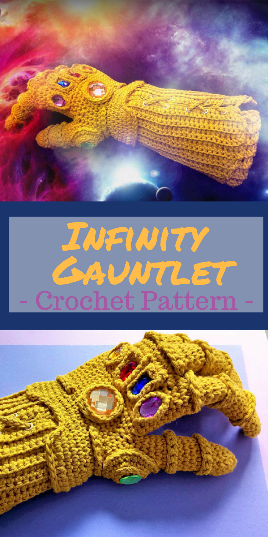 infinity gauntlet pdf crochet pattern instant download inspired