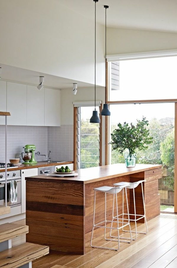 Kucheninsel Aus Holz Kitchen Ideas Pinterest Kitchens