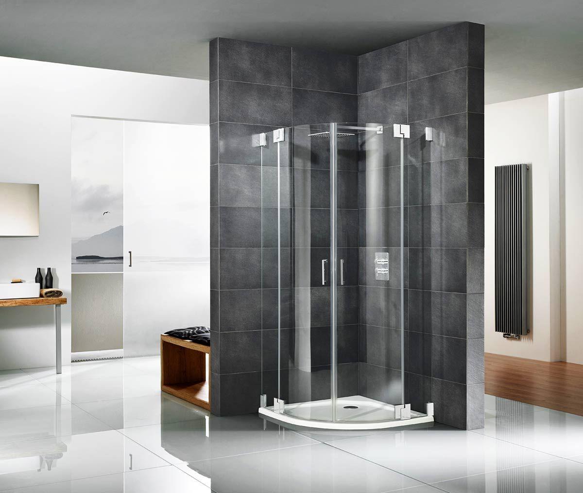 Pendeltür Dusche ᐳ 20 Beispiele für Ihr Bad ☛ Pendeltür