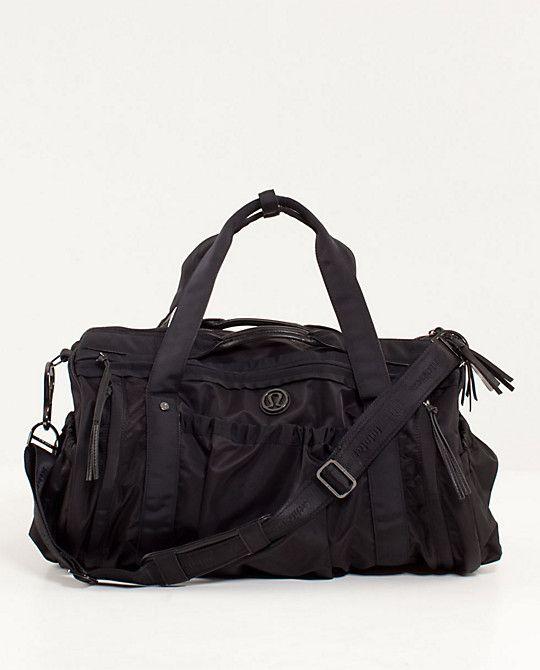 8f23a2439ed weekend bag b @cody lululemonKeep On Running Duffel (purple or black ...