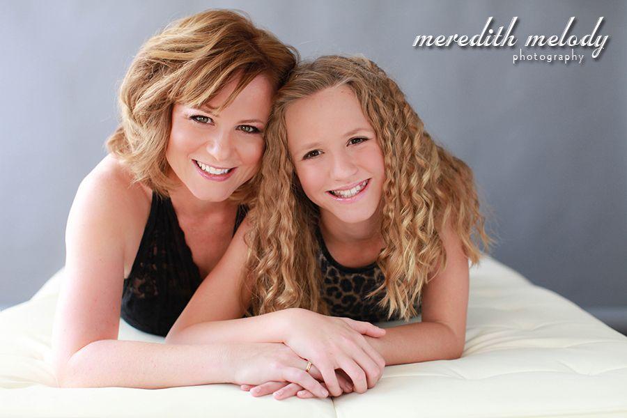 Mother Daughter Glamour Portrait Session - Little Rock