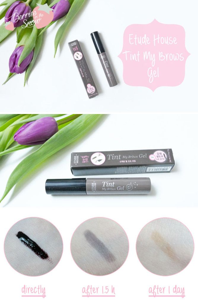 Review Etude House Tint My Brows Gel My K Beauty Obsession