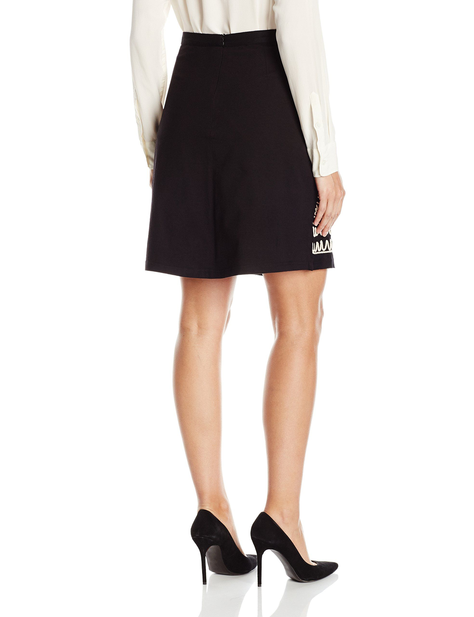 9645a0bea Desigual Womens Clara Knitted Knee Skirt Black XXL ** For even more info,  see picture link. (This is an affiliate link).