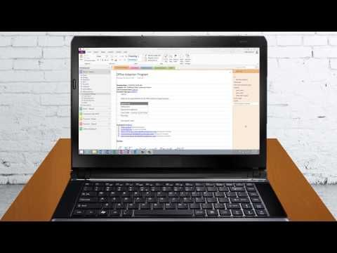 Take effective meeting minutes using OneNote 2013 - YouTube