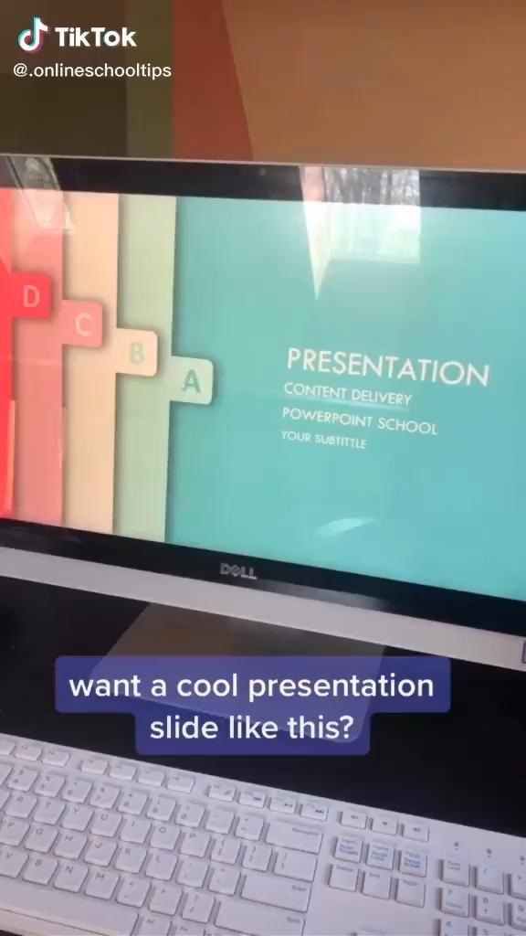 How To Make Effective Presentation Slides Video High School Life Hacks Life Hacks For School School Study Tips