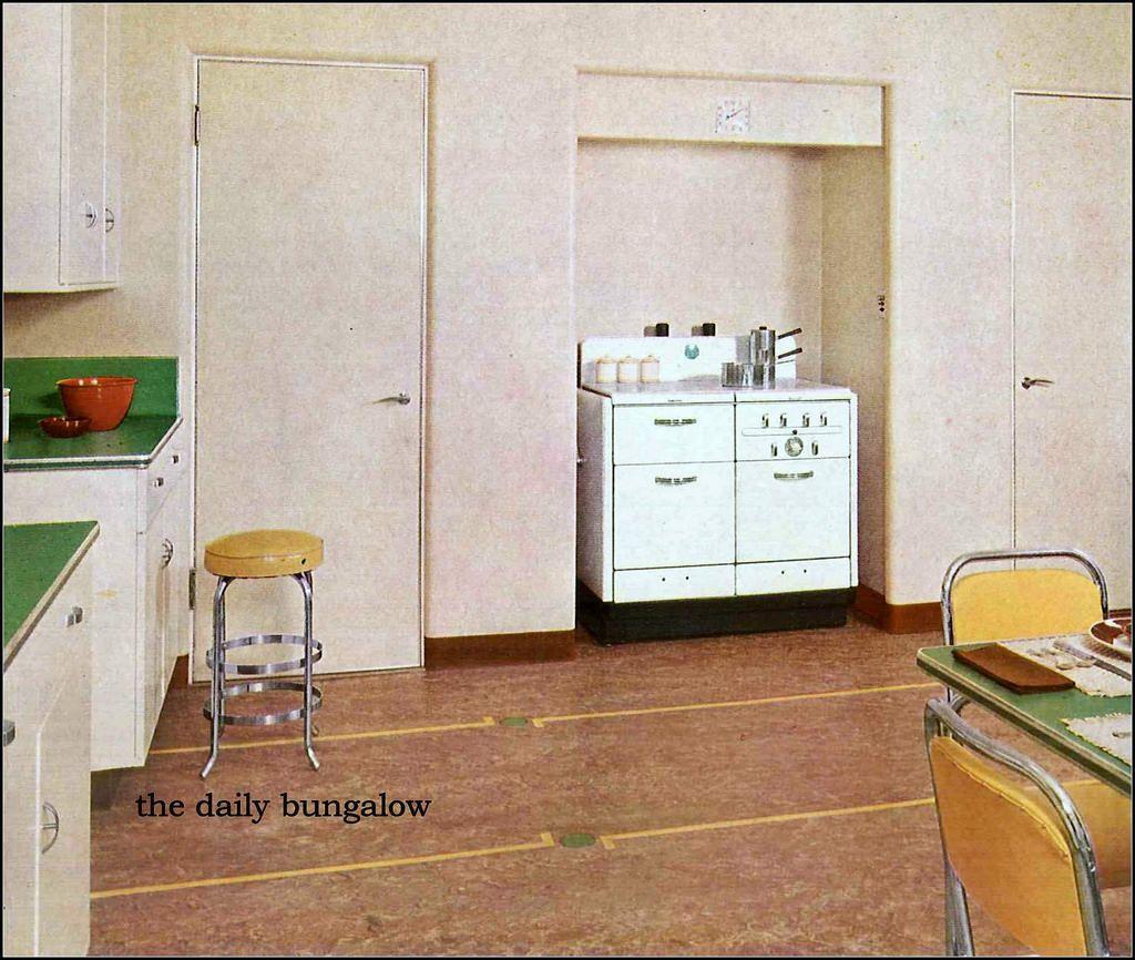 https://flic.kr/p/lcrxzz | nairn linoleum 1942 | forties kitchen