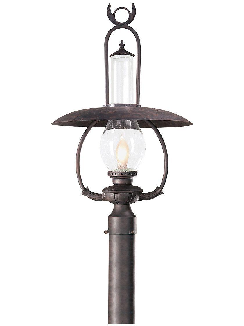 La Grange Exterior Post Light In Old Bronze Outdoor Post Lights Modern Outdoor Lighting Rustic Outdoor Lighting