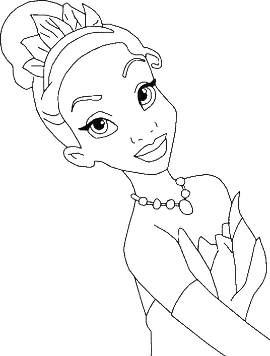 Photos Princess Tiana Coloring Pages Princess Coloring Pages