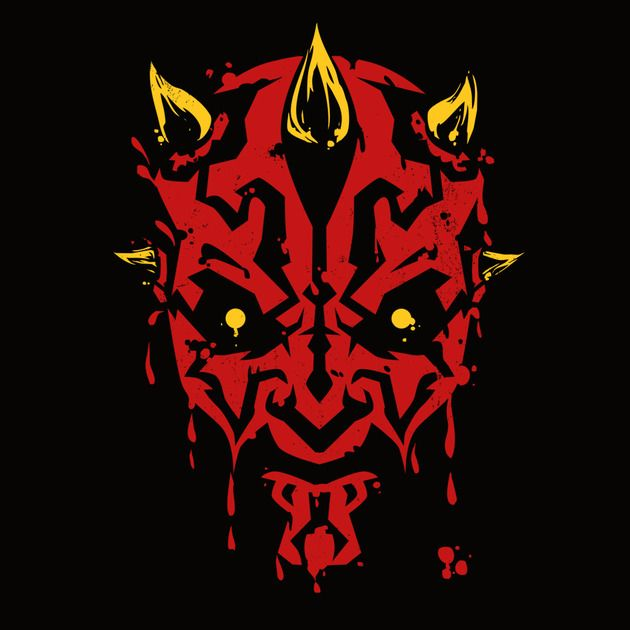 FEAR IS MY ALLY T-Shirt $11 Darth Maul tee at teeVillain today only!
