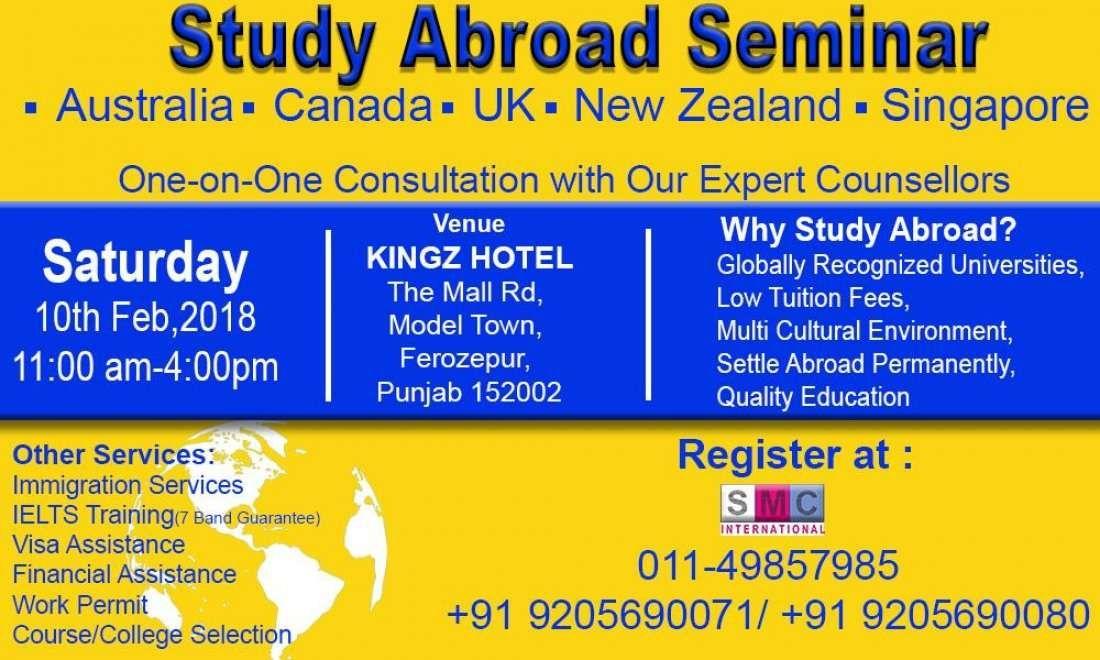 Dream to Study Abroad UK Canada Australia NZ Singapore