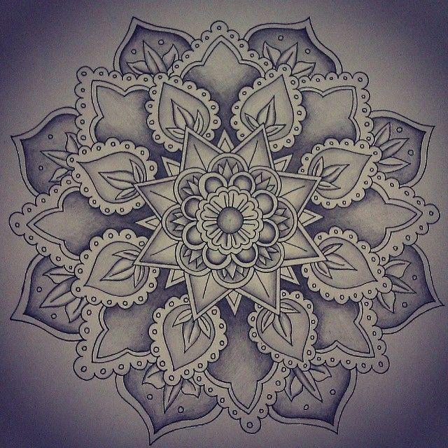 Mandala Designs, mavorz: Finally done! #mandala #art...