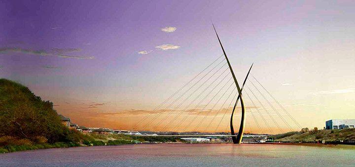 Puente de Sunderland, el puente más alto de Inglaterra
