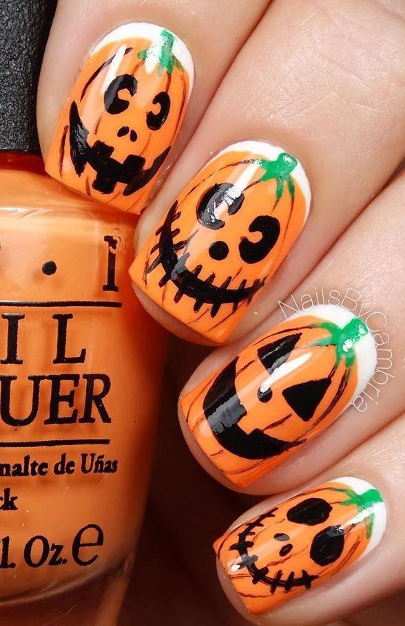 30 Halloween Nail Art Design Ideas Pinterest