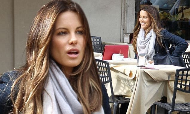 Kate Beckinsale films for role as journalist in Amanda Knox film