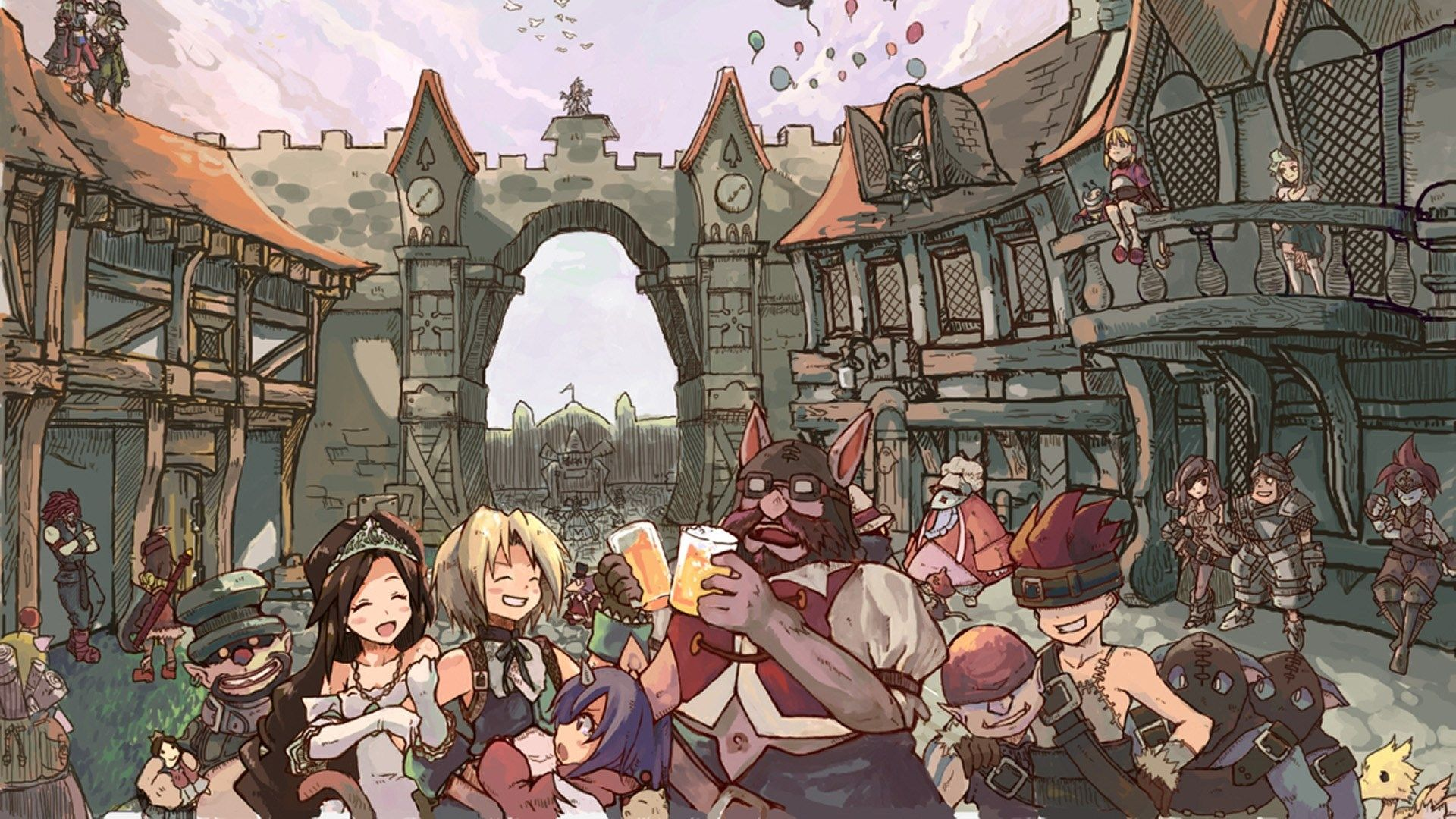 1920x1080 Free Desktop Final Fantasy Ix Final Fantasy Ix Final Fantasy Artwork Final Fantasy
