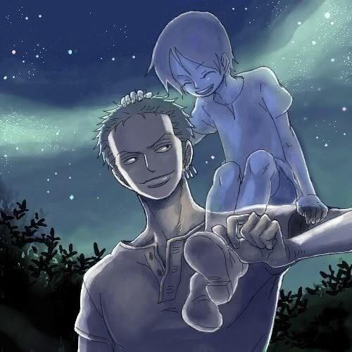 Zoro & Kuina cry cry alot