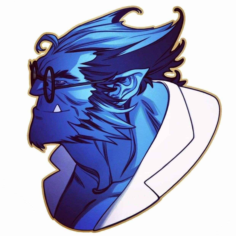 Beast Henry Hank Mccoy 90s X Men By Amelia Vidal Superhero Artwork Beast Marvel Beast Xmen