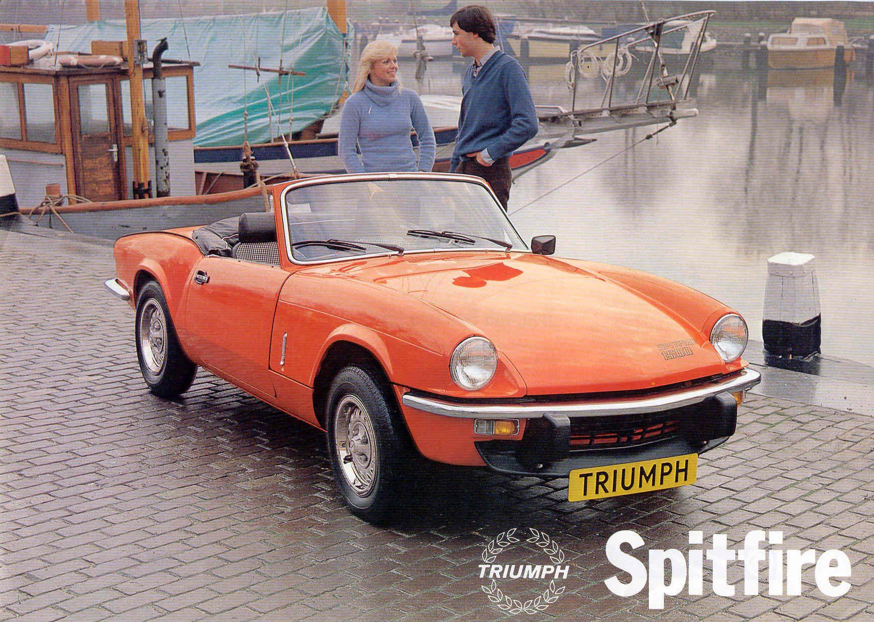triumph spitfire mk iv 1500 ads brochures pinterest. Black Bedroom Furniture Sets. Home Design Ideas