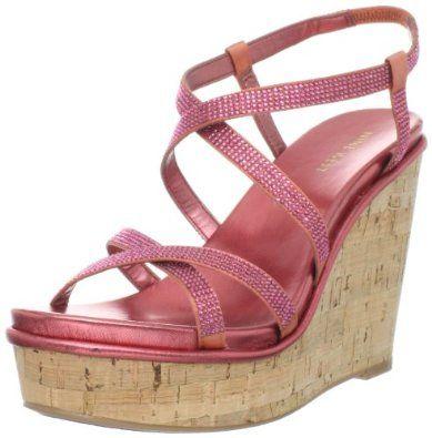 Nine West Women's Relish Wedge Sandal,$66.88