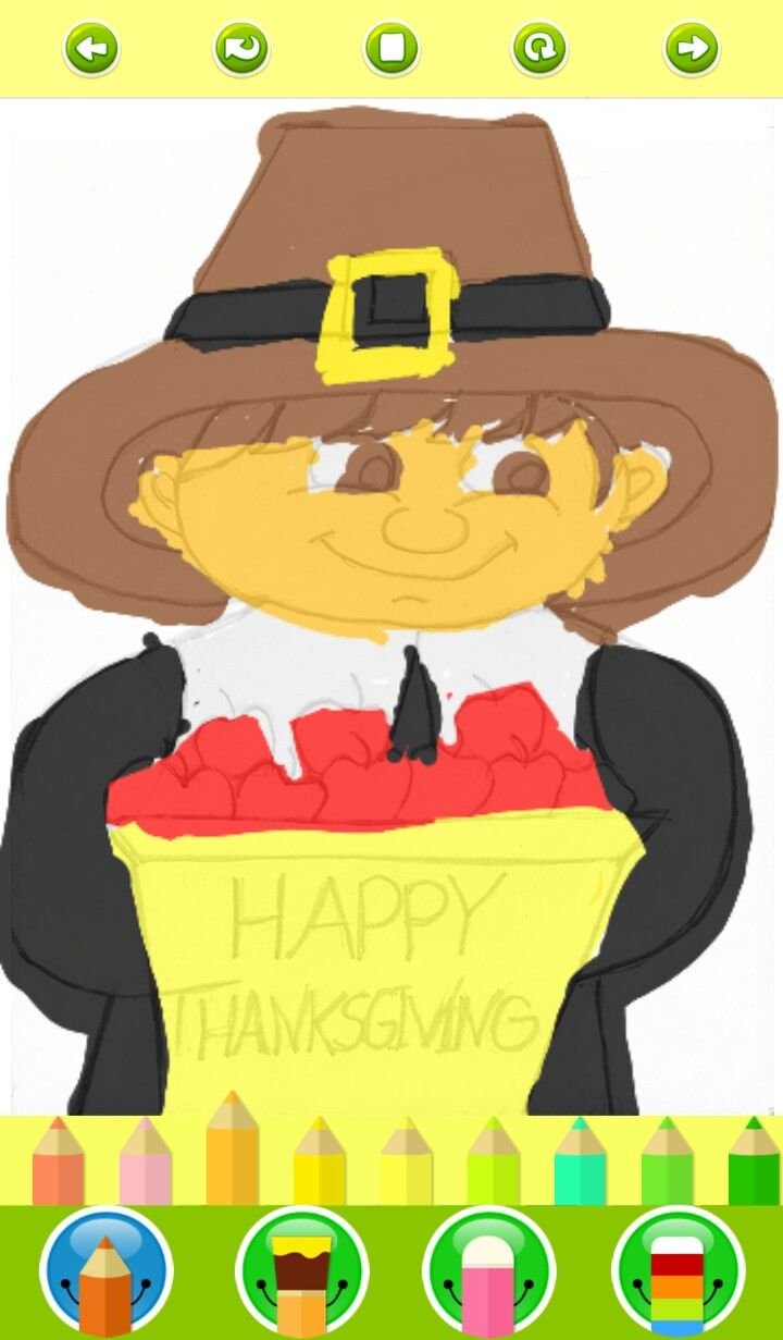 Modern Free Thanksgiving Coloring Pages For Preschoolers Photos