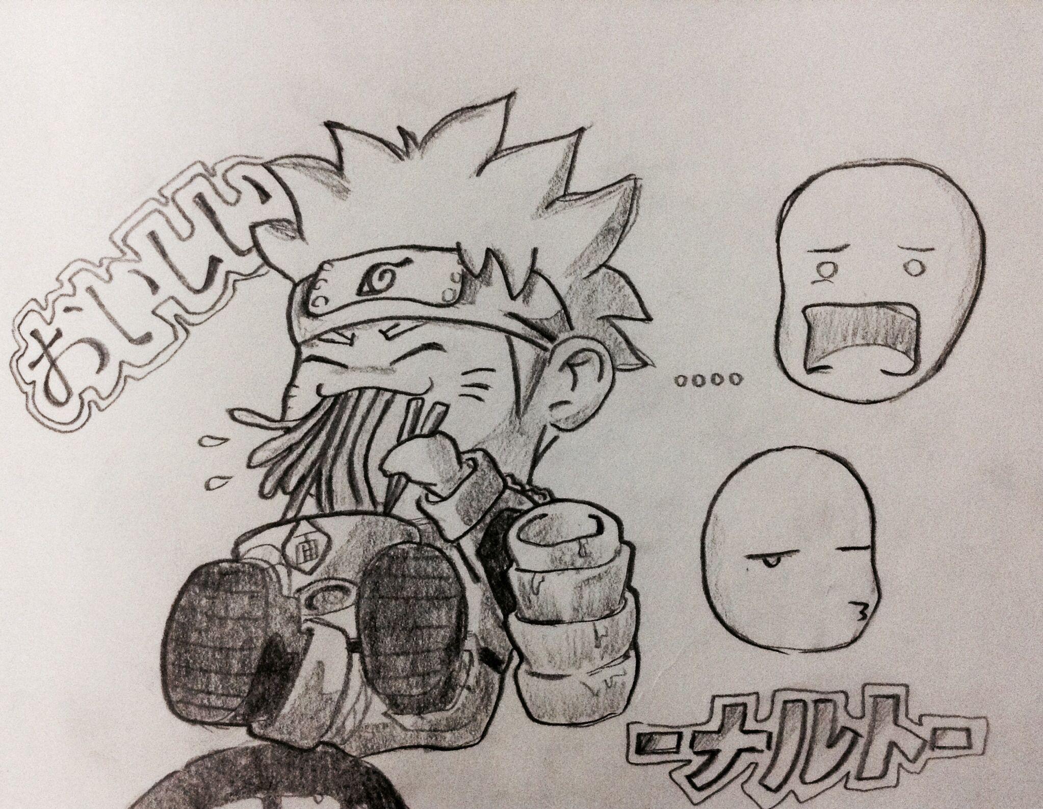 Naruto drawing doodle anime