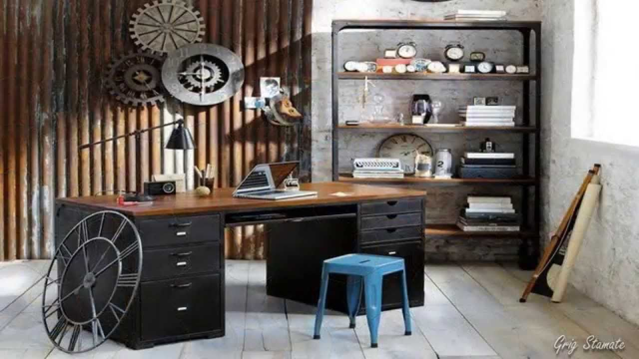 Surprising Industrial Office Decor Images Best Inspiration Home . New Posts