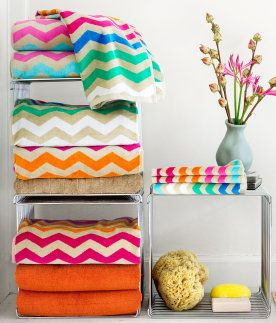 chevron beach towels...they are so great!