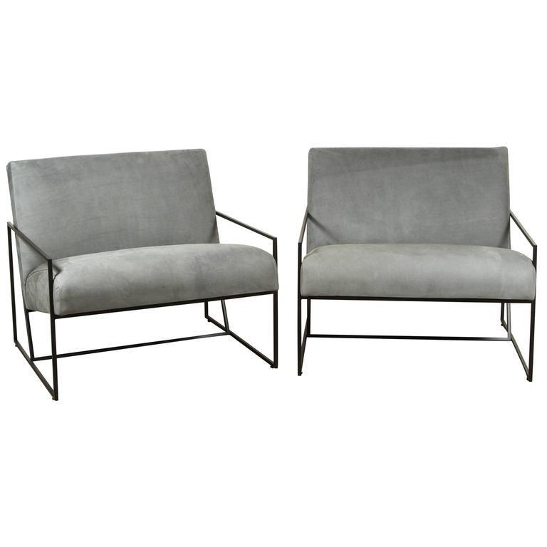 Magnificent Lawson Fenning Lounge Chair Thin Frame American Mid Inzonedesignstudio Interior Chair Design Inzonedesignstudiocom