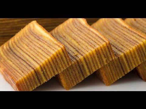 Resep Cara Membuat Kue Lapis Legit Paling Enak Youtube Lapis Legit Kue Lapis Snack Cake