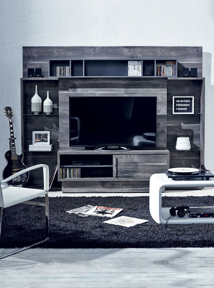 El centro de entretenimiento perfecto dco saga falabella for Saga falabella muebles