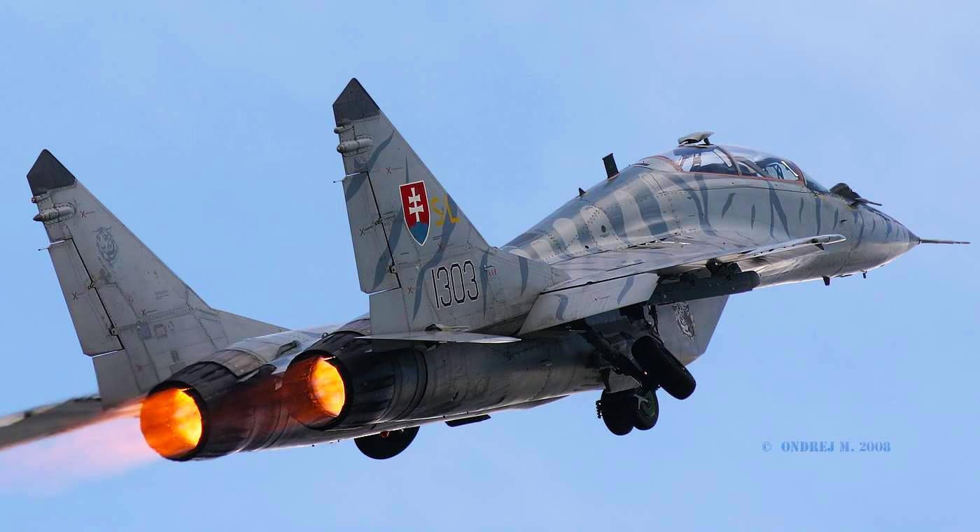 Resultado de imagen para MiG-29 + Eslovaquia.
