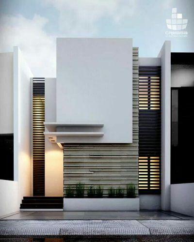 55 Contoh Gambar Model Rumah Minimalis Sederhana Renovasi Rumah Net Arsitektur Arsitektur Modern Eksterior Modern