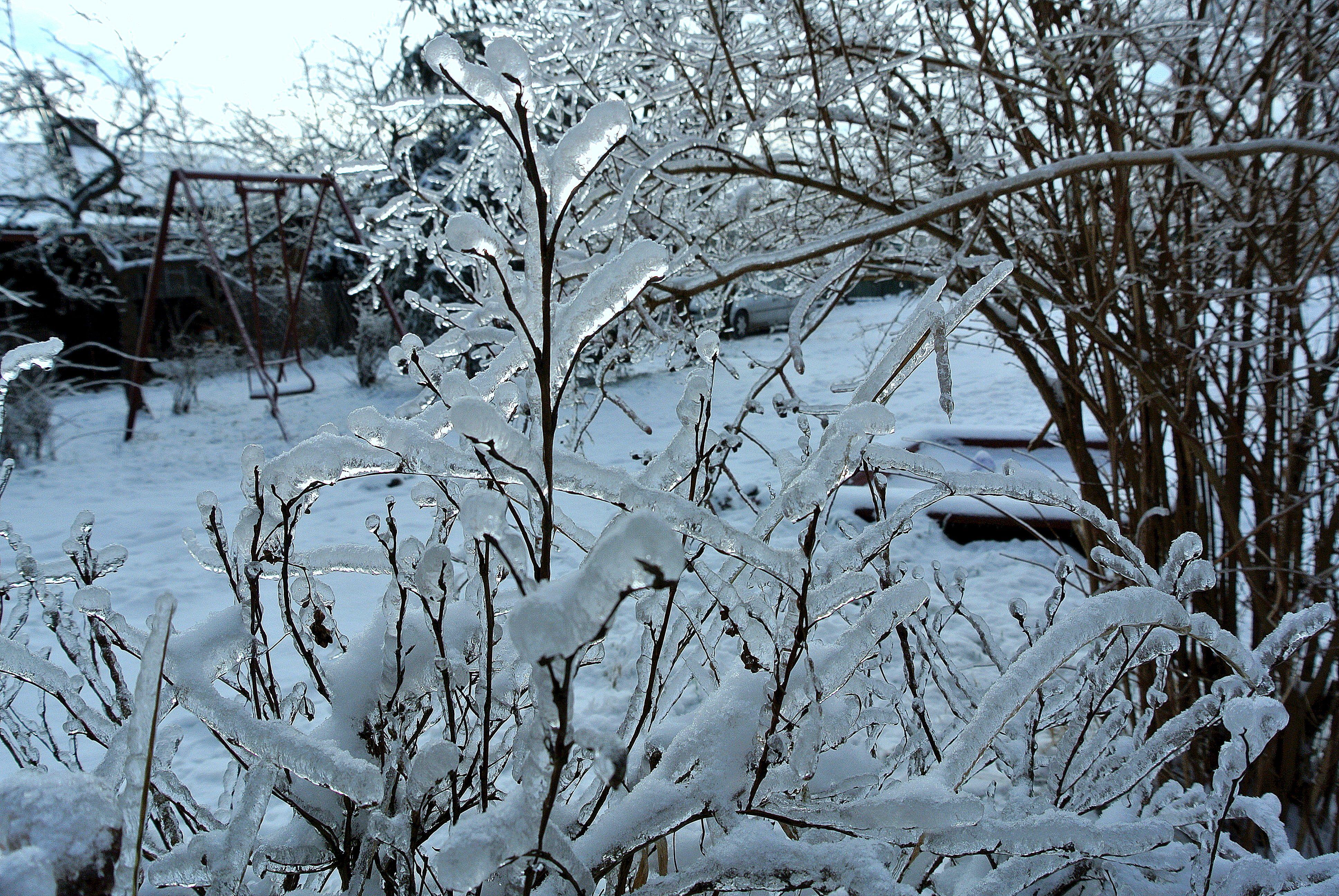 Zima w Bliżynie