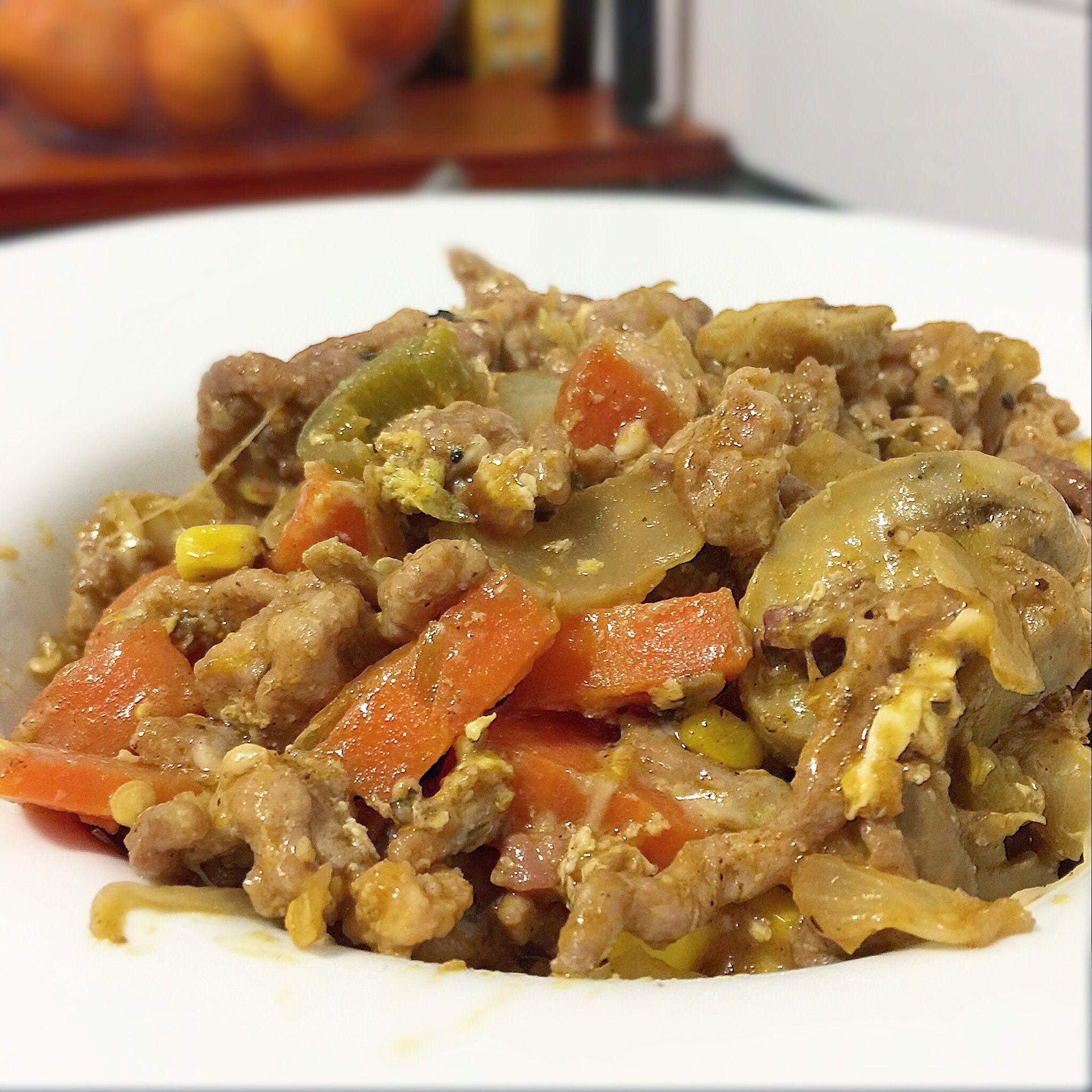 RECETA FITNESS/ Carne picada con salsa barbacoa y jalapeños