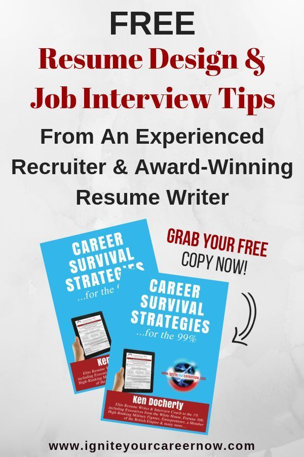 These Are The Three Most Important Resume Writing Tips According
