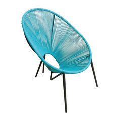 Giardino e terrazzo-Sedia Egg azzurro-35304122