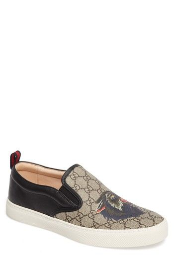 9289d722c42 GUCCI DUBLIN ANGRY WOLF SLIP-ON.  gucci  shoes