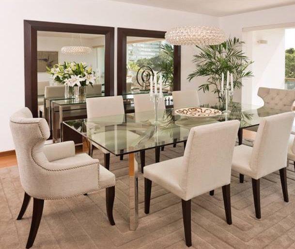 Espejos pared  DINING ROOM en 2019  Comedores Mesas de