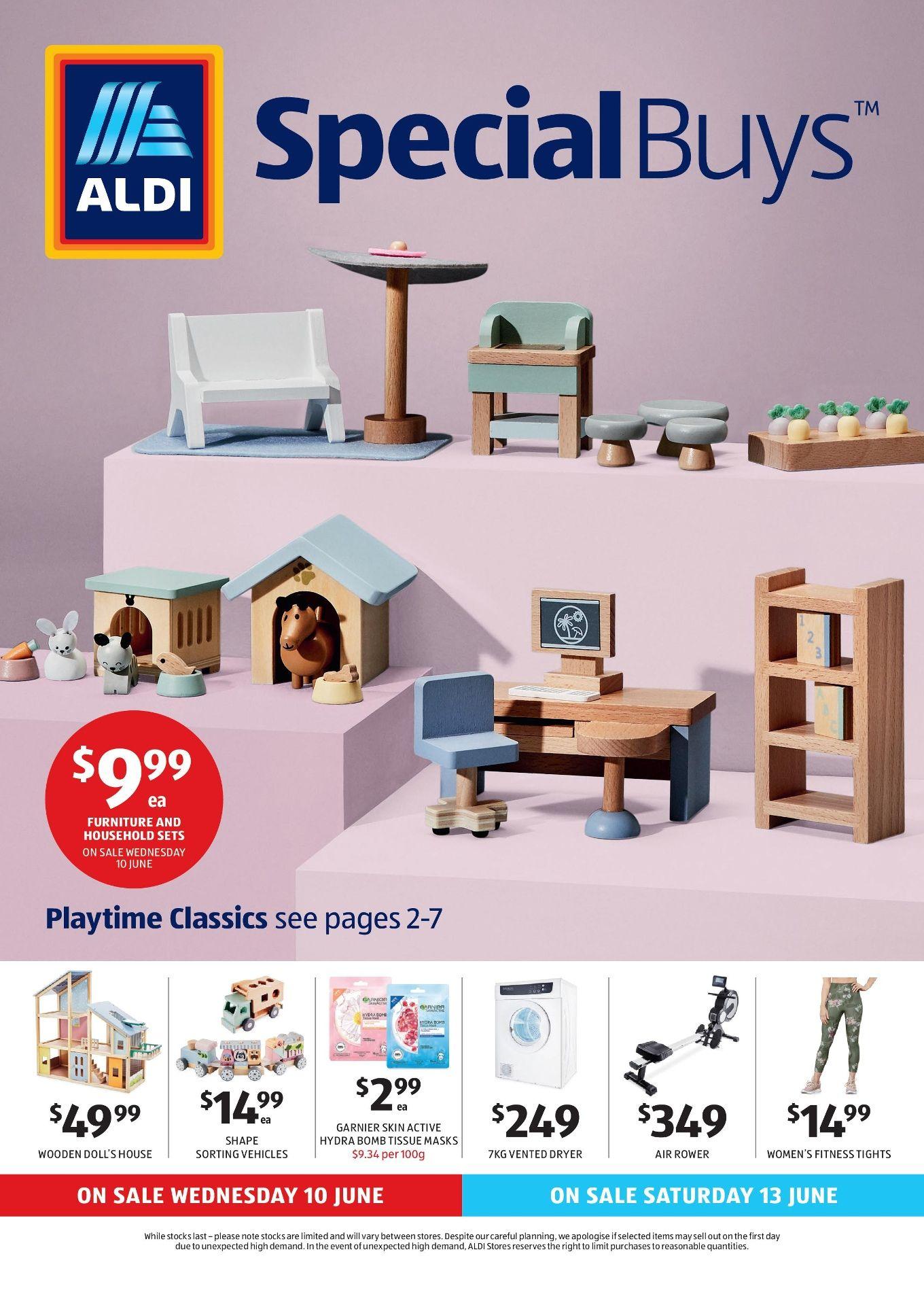 Aldi Catalogue Specials Week 24, 10 June 16 June 2020 in