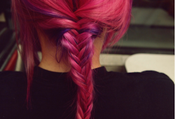 Cute braid and nice color!