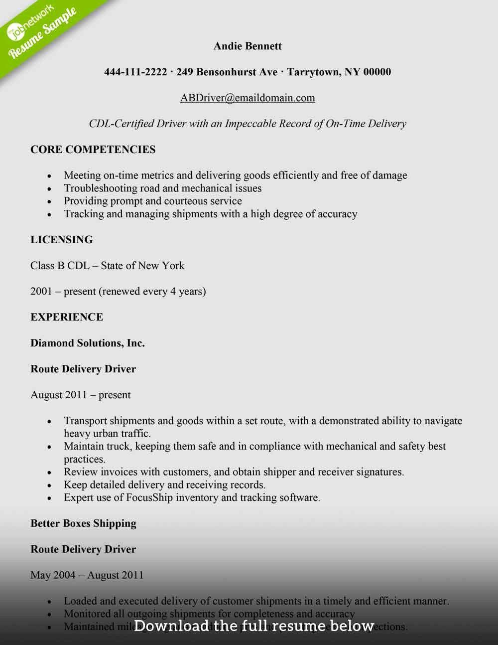 Fedex Package Handler Job Description Resume Best Of Delivery Boy Resume Sample Job Resume Samples Good Resume Examples Jobs For Teachers
