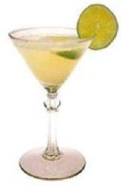 Honeysuckle Daiquiri cocktail from MakeMeACocktail.com