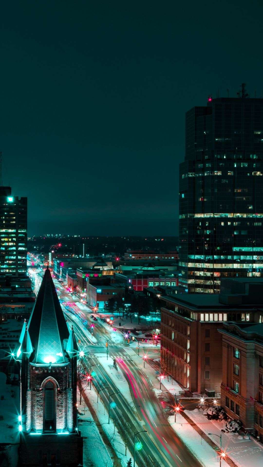 Night City Photo Night City Photo Night City Hd Landscape City Buildings