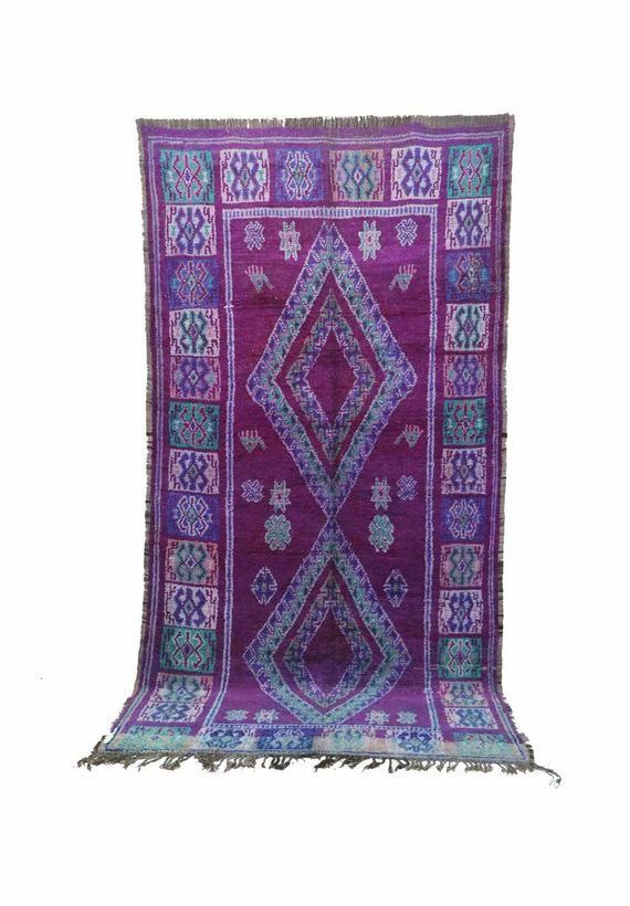boujad 6 8 x 12 7 203 x 383 cm vintage moroccan rug boujaad carpet pink rug boho chic on boho chic kitchen rugs id=51235