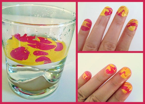 How to diy tie dyed art nail art the beauty bean beauty how to diy tie dyed art nail art the beauty bean beauty prinsesfo Image collections