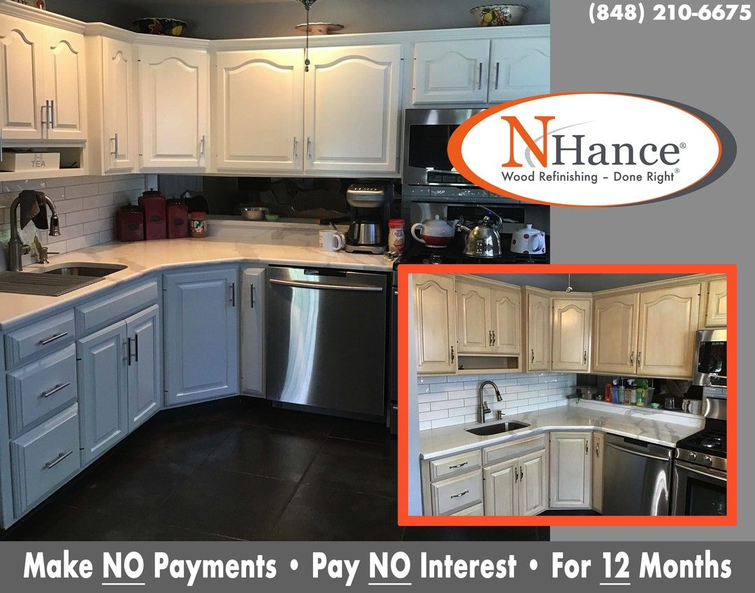 Give Your Kitchen The Update You Ve Been Looking For Without Replacing The Cabinets The N In 2020 Traditional Kitchen Remodel Kitchen Room Design Refinishing Cabinets