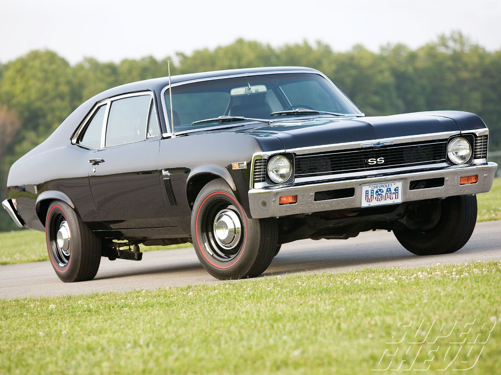 Check out this 1969 chevy nova ss with a 396 engine manual transmission zoom clutch strato bucket seats and firestone tires super chevy magazine